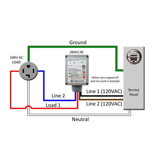 Wireless Metering 30a Dual  Controller
